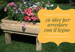 26 Idee per arredare con il legno