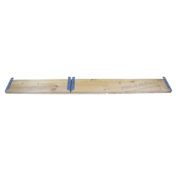 Folding wooden wall panel