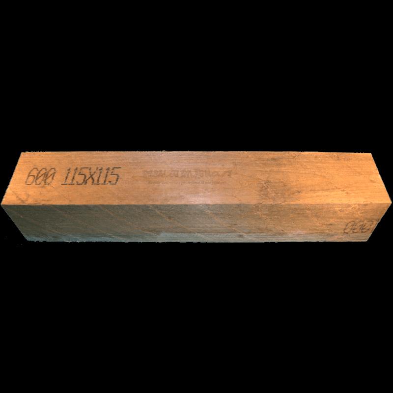 Wooden Beam 115x115mm - Front