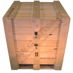 Cassa in legno - Dall'alto