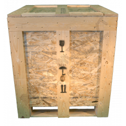 Wooden Osb Box - Front
