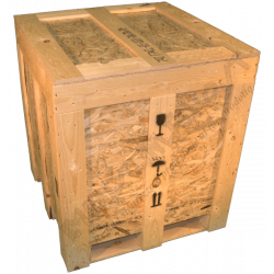 Wooden Osb Box - Side