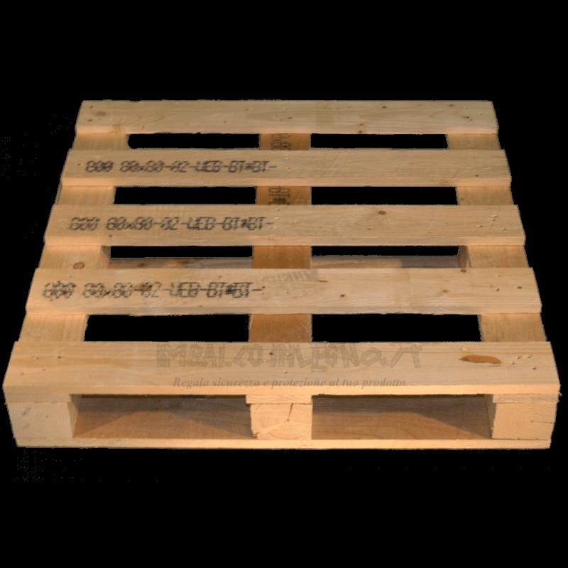 Four Way Block wooden pallet - Front