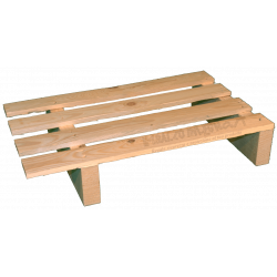 Two Way Light wooden pallet - offset side under 60 cm