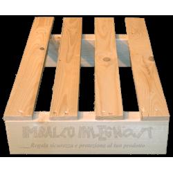 Two Way Light wooden pallet - Short Edge offset under 60 cm