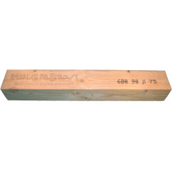 Wooden Beam 75x90mm - Front