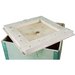 Wooden Plywood Foldable box - cover