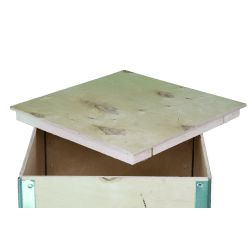 Wooden Plywood Foldable box - cover 2